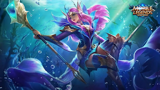 Download Script Skin Odette - Mermaid Princess (Mobile Legend)