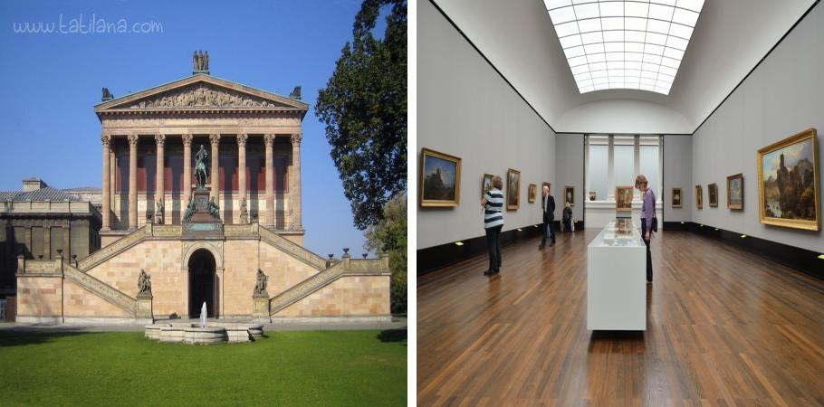Alte Nationalgalerie (Eski Ulusal Galeri)