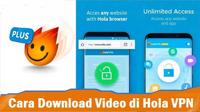 Cara Download Video di Hola VPN