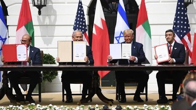 UEA dan Bahrain Resmikan Perjanjian Damai dengan Israel