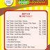 Contoh Desain Daftar Menu Makanan dan Minuman