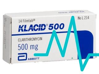 FDA cảnh báo  tác dụng phụ nguy hiểm của Clarithromycin trên bệnh nhân tim mạch