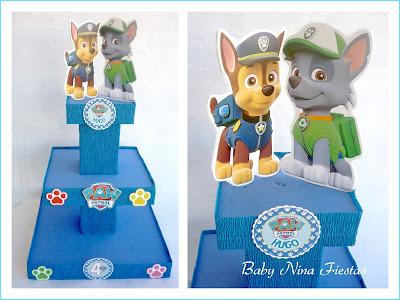kit de cumpleaños patrulla canina