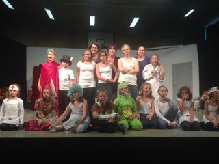 Die Best of Theater Kindergruppe