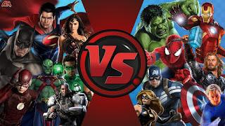 justice league vs avengers