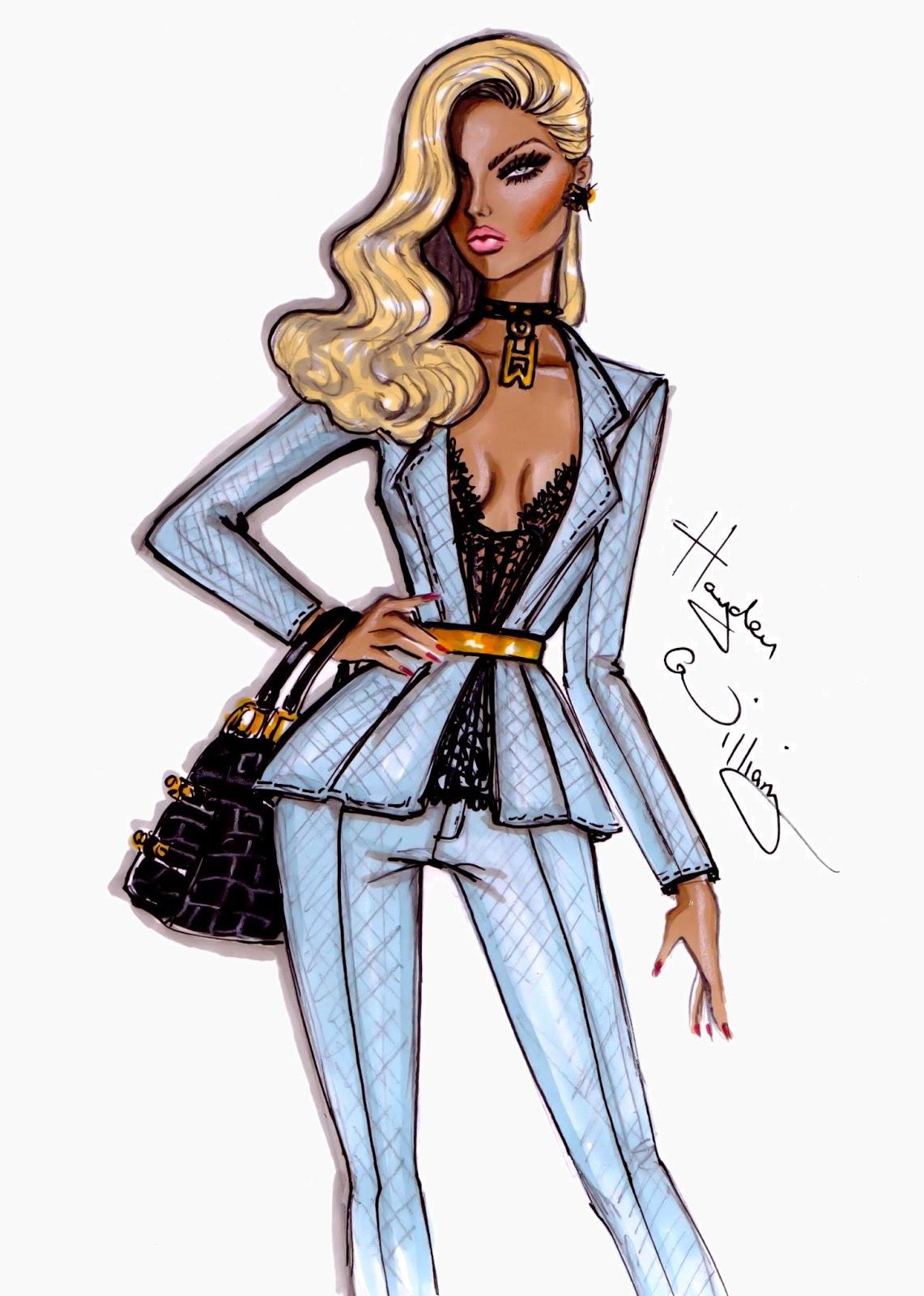 Hayden Williams Fashion Illustrations: April 2013