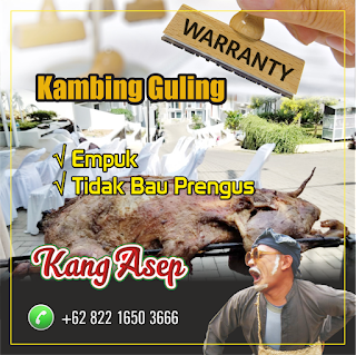 Guling Kambing Murah Kang Asep Garut, guling kambing kang asep, guling kambing garut, guling kambing,