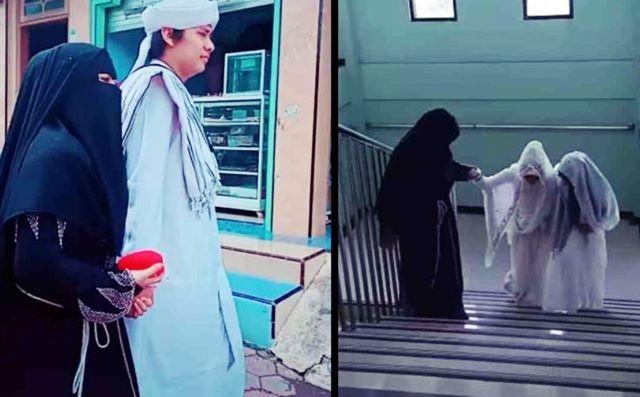 Viral istri mengantar suami menikah - Tiktok