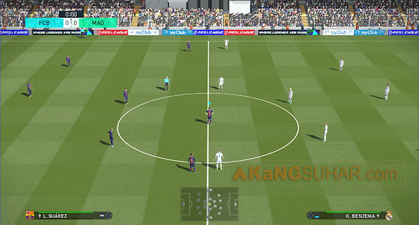 Pro Evolution Soccer 2018 [PES 2018] (USA) PS3 ISO Screenshots #1