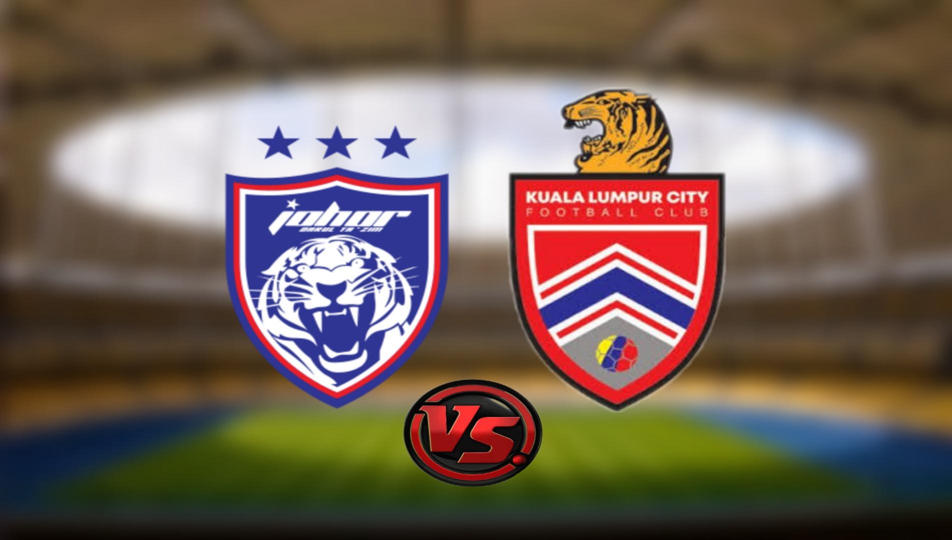 Live Streaming JDT FC vs Kuala Lumpur City FC Liga Super 12.9.2021