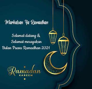 gambar ucapan bulan puasa ramadhan 2021