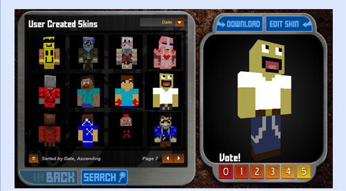 Skin Template - Skins - Mapping And Modding - Minecraft
