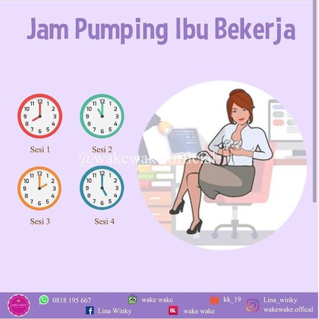 Jadwal Pumping Ibu Bekerja