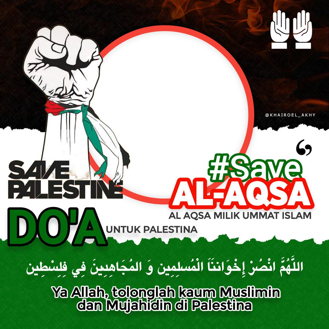 Link Bingkai Foto Twibbon Save Al-Aqsa 2021