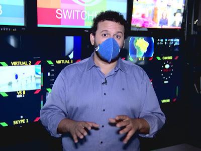 O repórter Juliano Dip apresenta momentos marcantes da emissora - Divulgação