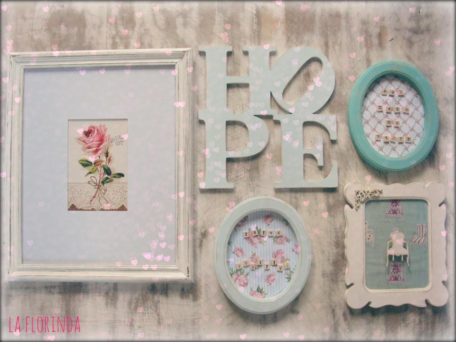 Tienda la florinda composici n para pared - Composicion marcos pared ...