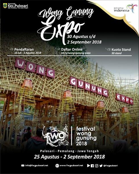 Festival Wong Gunung - Wong Gunung Expo