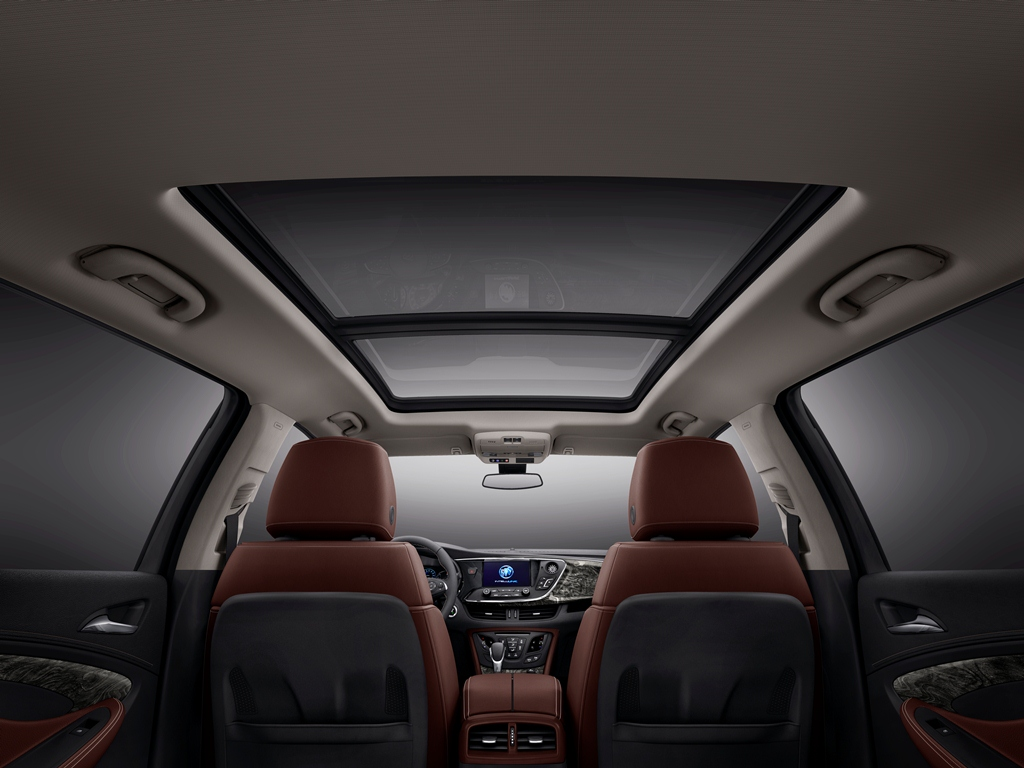 Buick Reveals New Envision Suv S Interior Chinese Media