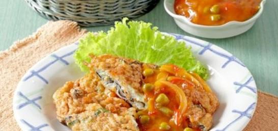 Resep Cara Membuat Fuyunghai Ayam Jamur