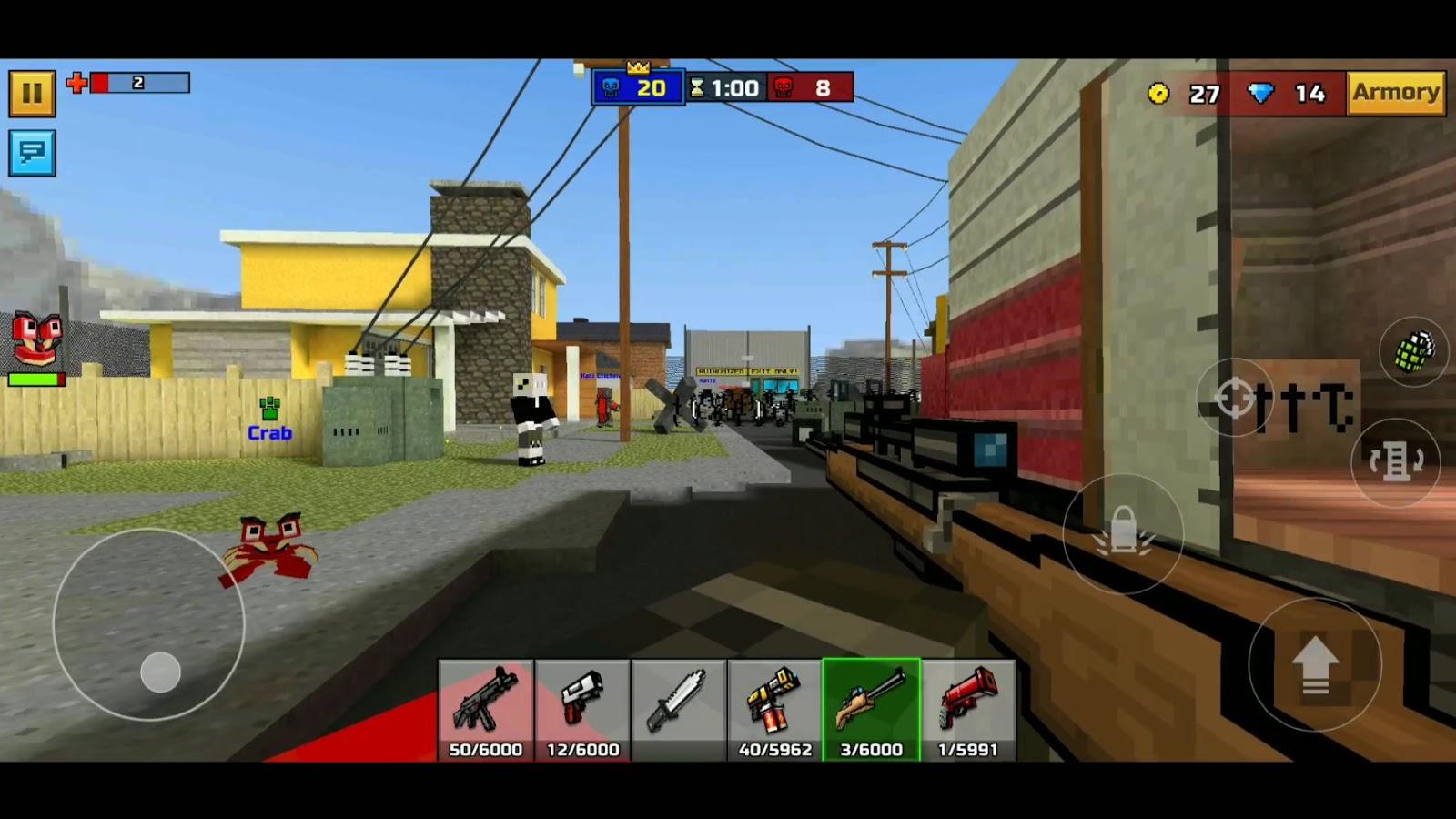 pixel gun 3d apk mod 2019