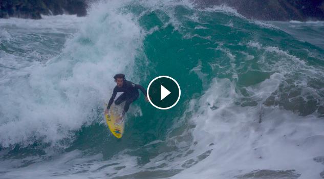 Mason Ho Sheldon Paishon Surfing The Wedge