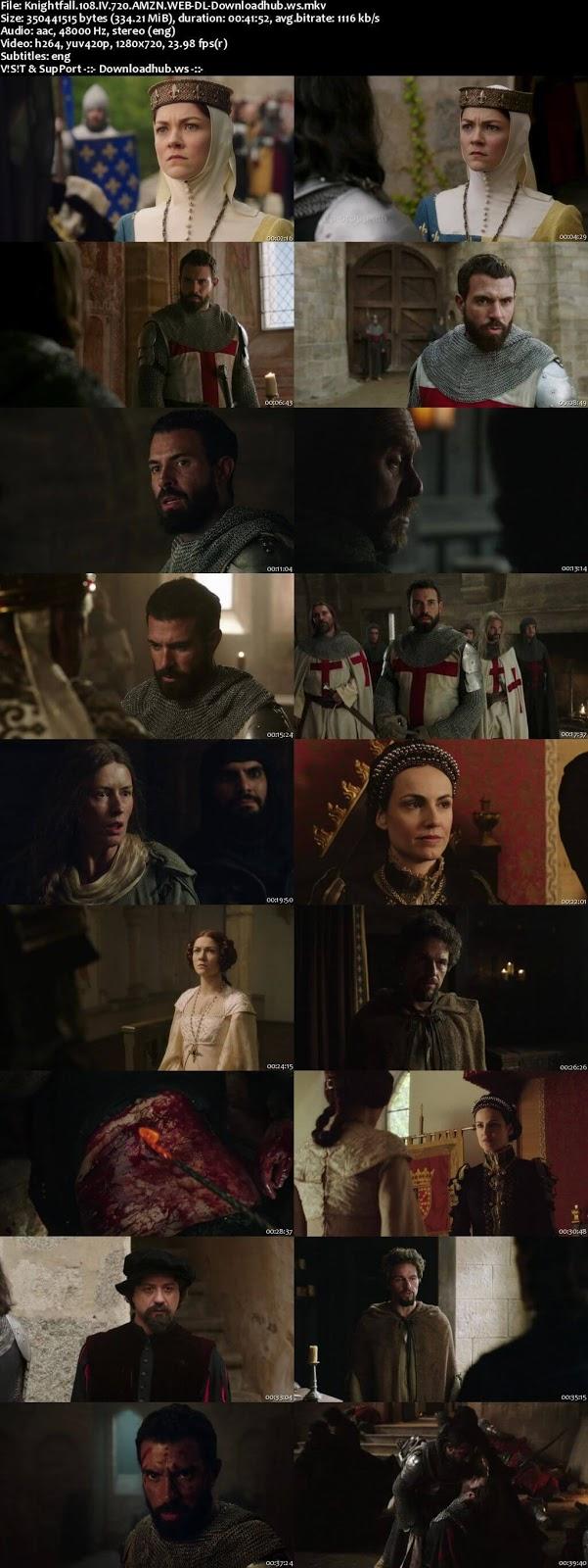 Knightfall S01E08 330MB WEB-DL 720p ESubs