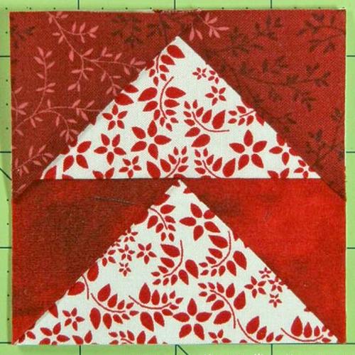 Arrowhead Quilt Block - Free Pattern