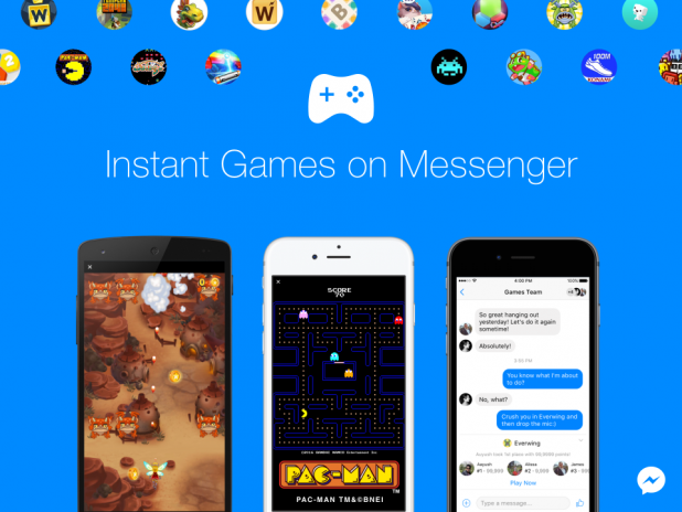 Facebook Messenger Introduces Instant Games