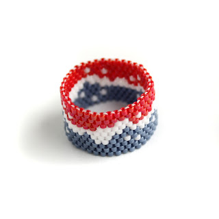 оригинальное женское кольцо бижутерия из бисера интернет магазин
