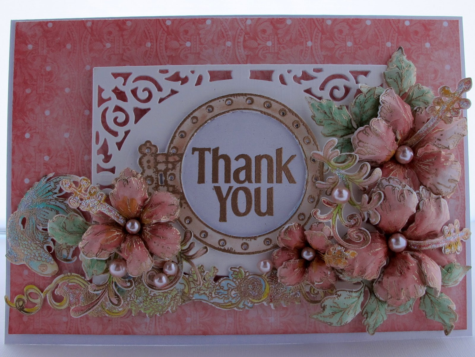 susan smit heartfelt creatoinsthank you card