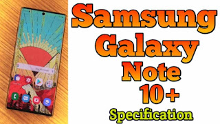 Samsung Galaxy Note 10 Plus Specification