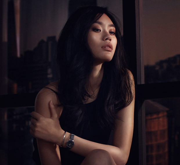Ming Xi Models Daniel Wellington Classic Petite Collection