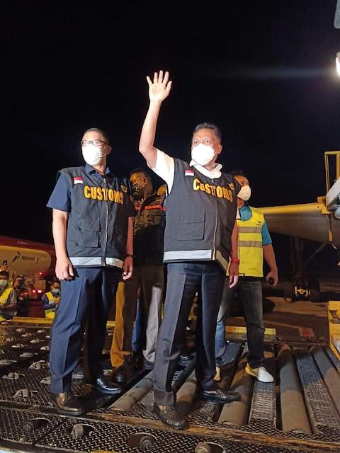 Launching Perdana Ekspor Manado - Tokyo. Dirjen Bea Cukai : Apapun Pak Gubernur Perintah Kami Siap Laksanakan