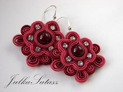 *Something like a rose* Earrings