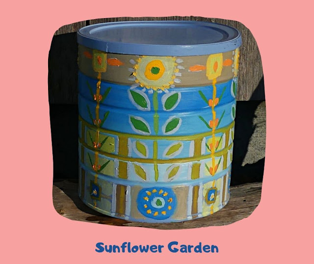 Sunflower Garden Pot by Minaz Jantz
