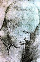 Portret Bronisława Mlynarskiego rysowany przez Józefa Czapskiego