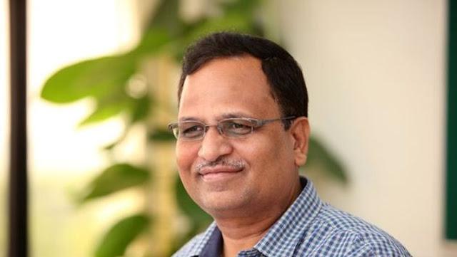 दिल्ली के स्वास्थ्य मंत्री सत्येंद्र जैन टेस्ट पॉजिटिव फॉर कोरोनवायरस