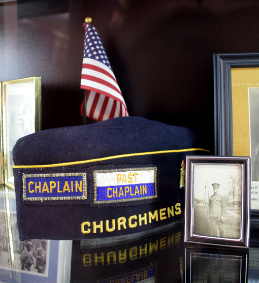 WWI Chaplain Hat | Senoia Area Historical Society Museum | Photo: Travis S. Taylor
