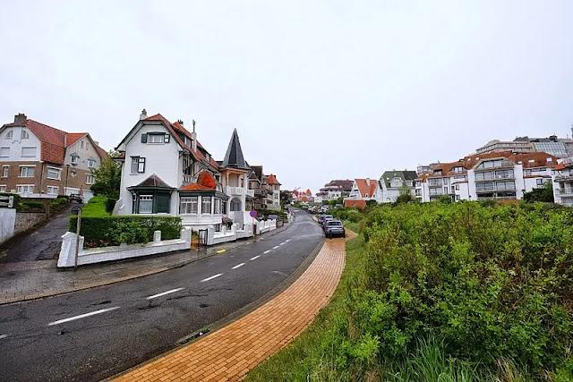 the resort town of Knokke Heist in Belgium