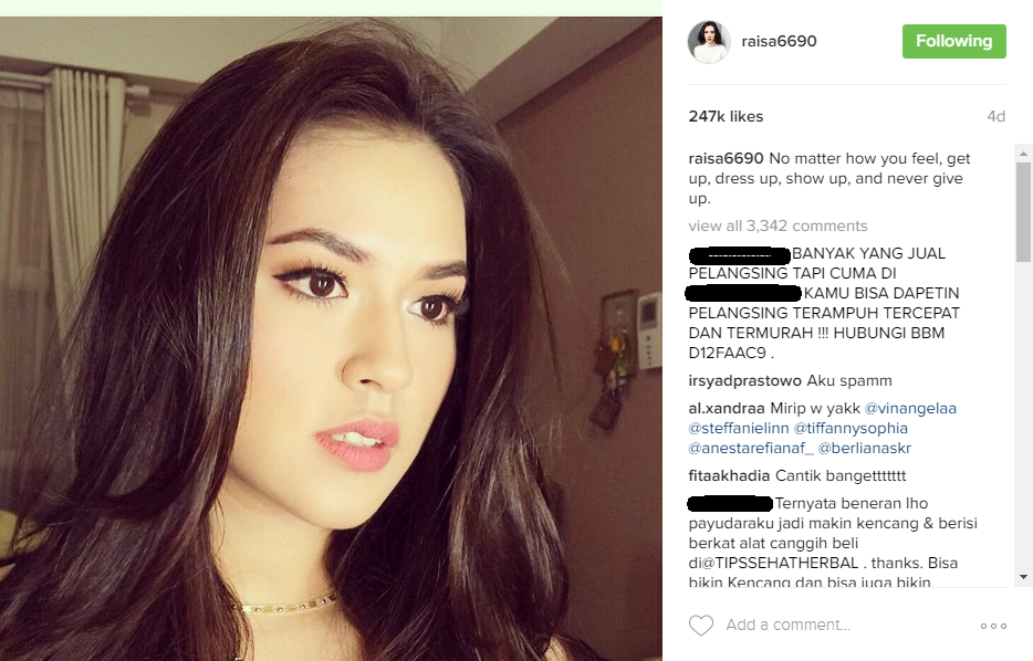 30 cewek cantik instagram idaman para pria triviaries