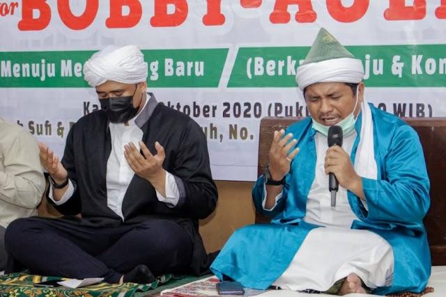 Tuan Guru Batak : Kita Doakan Bobby-Aulia Mampu Wujudkan Medan Maju dan Berkah