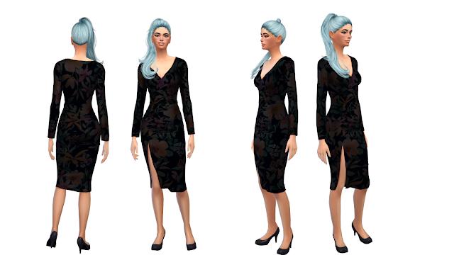 {Female} Midi Dress