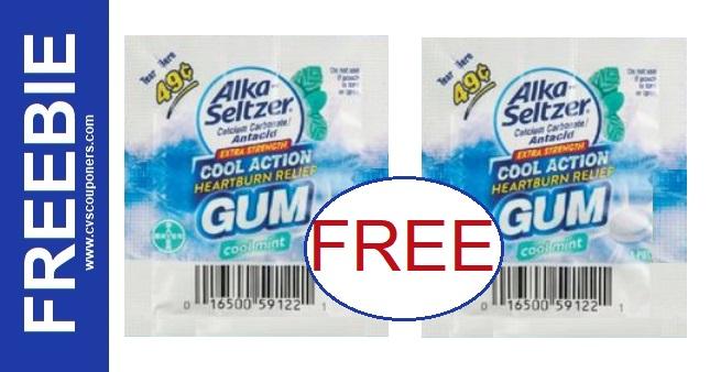 FREE Gum Single Packs CVS Deal 10-4-10-10