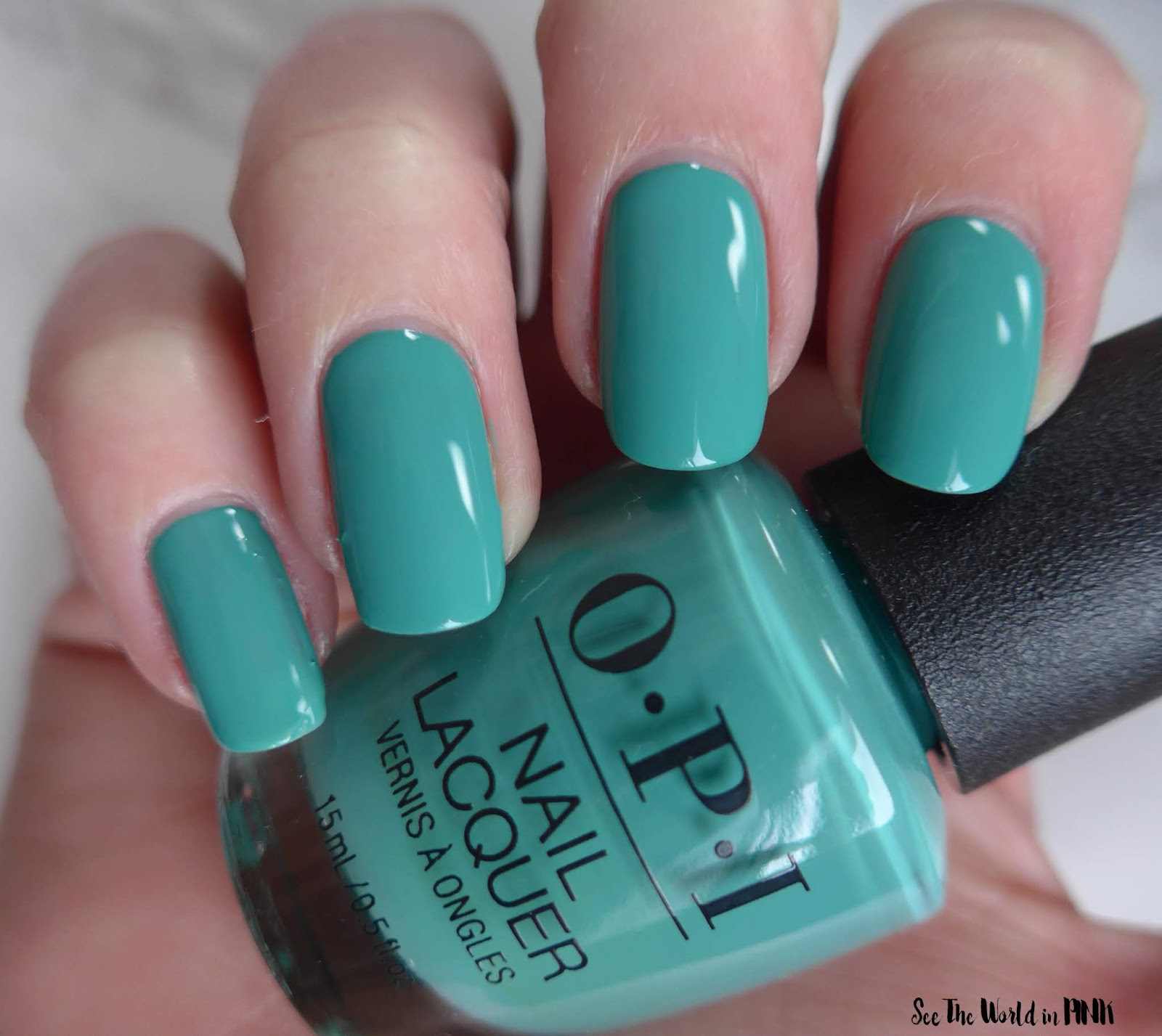Manicure Monday - OPI Tokyo Collection for Spring and Summer 2019 I'm on a Sushi Roll