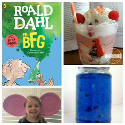 roald dahl day the BFG crafts