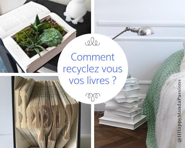 Recycler vos livres