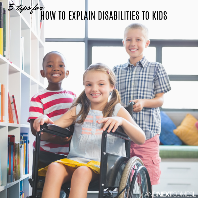 5 tips for how to explain disabilities to kids