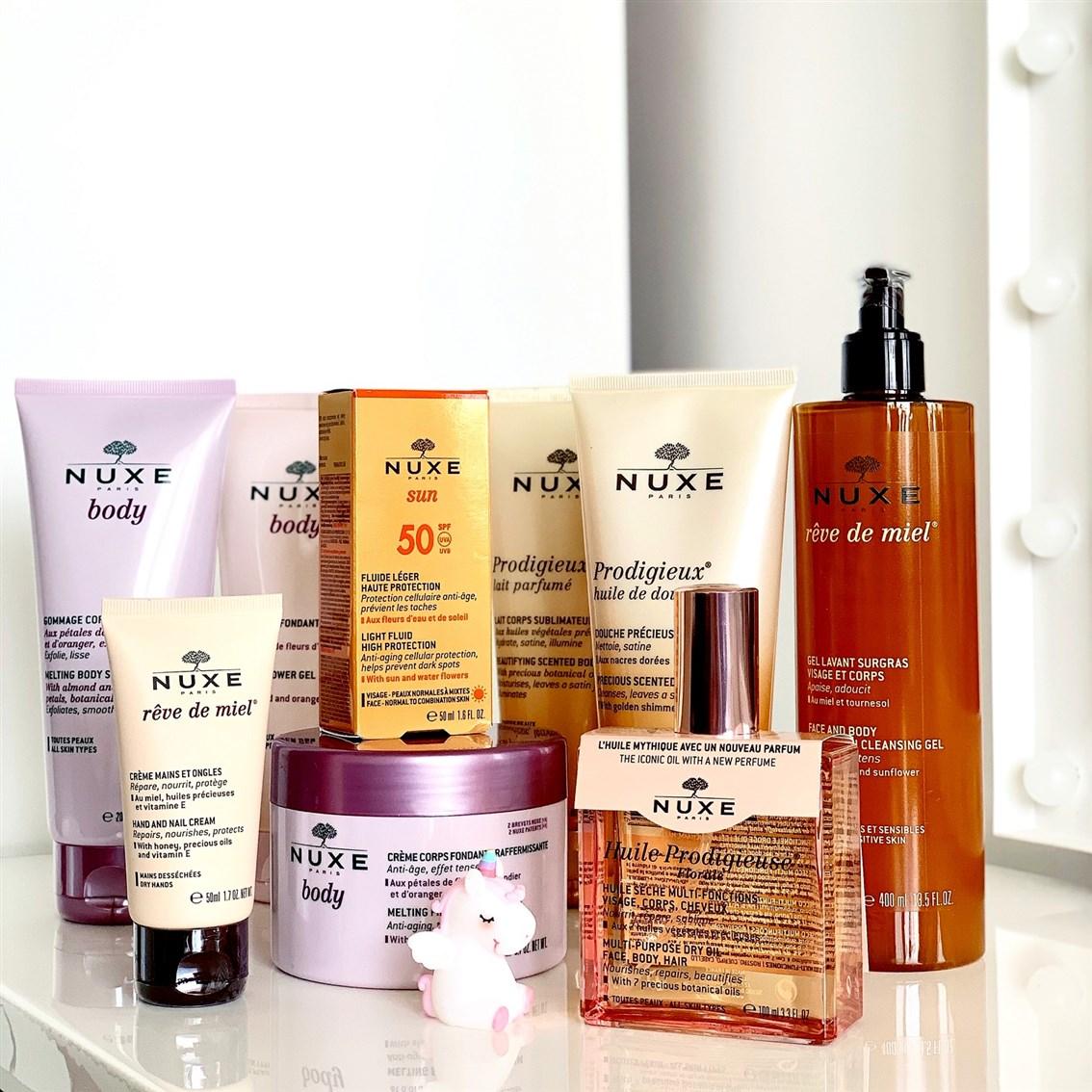 Nuxe kosmetyki blog