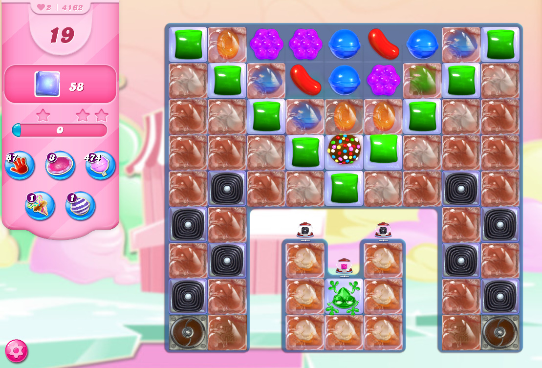 Candy Crush Saga level 4162