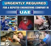 Required ITI Experienced Holders In Sharjah Uae For Cement Manufacturing Factory, Free Visa, Accommodation,  2 Times Food And Air Ticket.